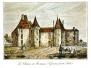 St Michel de Montaigne le château