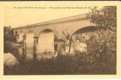 le pont du chemin de fer