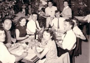 1952 repas de fin d'études1